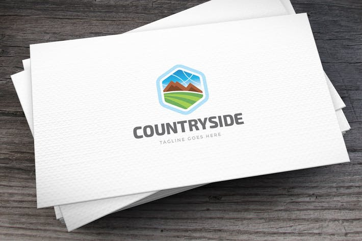 Cover Image For Countryside Logo Template