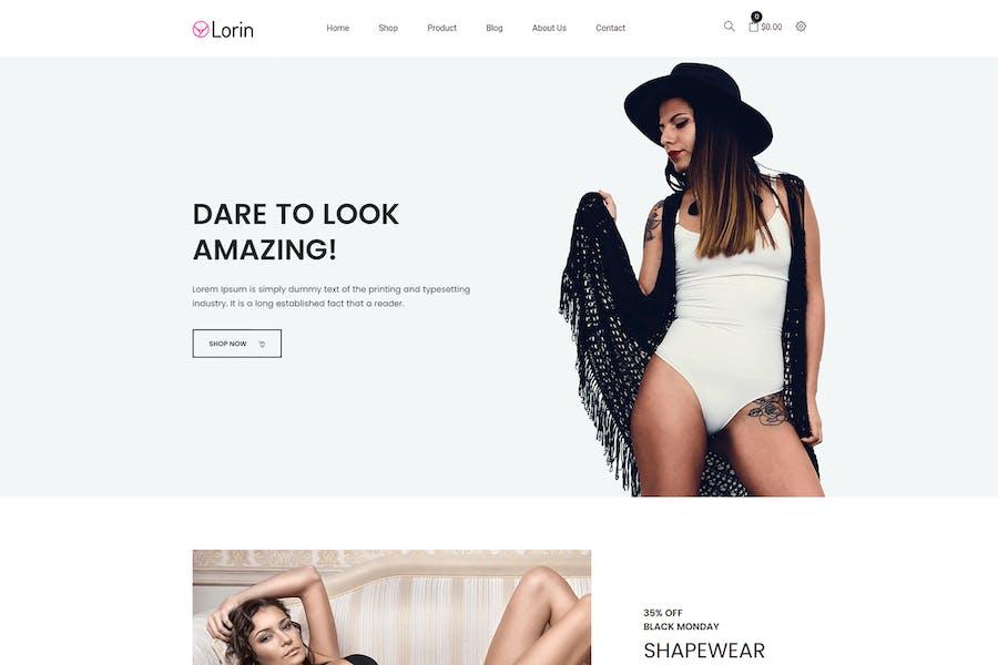 Lorin — Форматура Shopify Тема