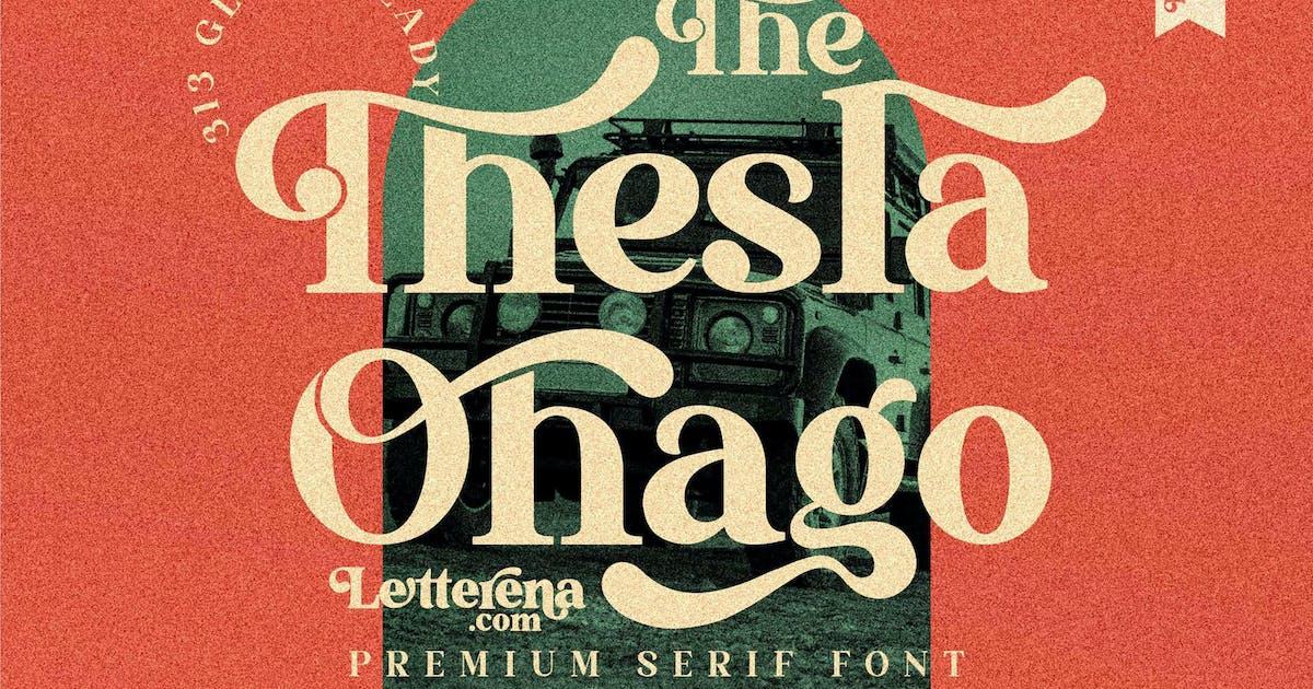 Download The Thesla Ohago Serif LS by GranzCreative