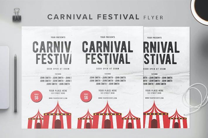 Thumbnail for Carnival Flyer