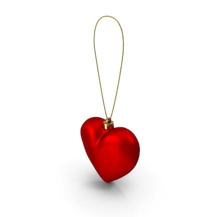 Сердце Рождественский орнамент