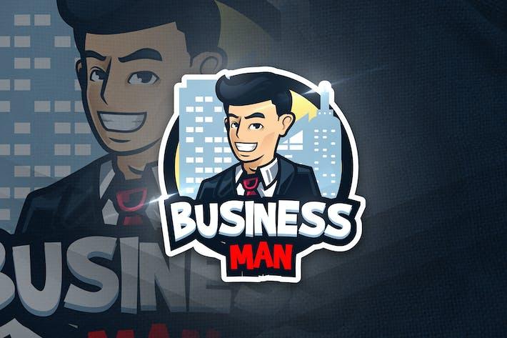 Business Man - Mascot & Esport Logo