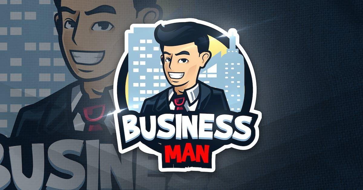 Download Business Man - Mascot & Esport Logo by aqrstudio