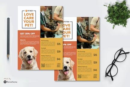 Veterinary vol.01 - Pet Care Flyer RB