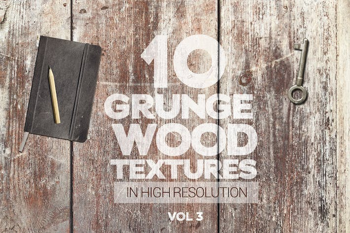 Thumbnail for Grunge Wood Textures x10 Vol 3