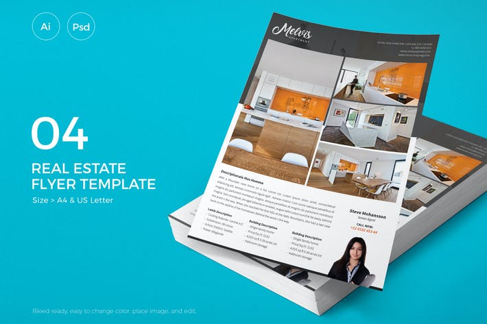 Thumbnail for Slidewerk - Real Estate Flyer 04