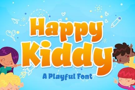 Happy kiddy a Playful Font