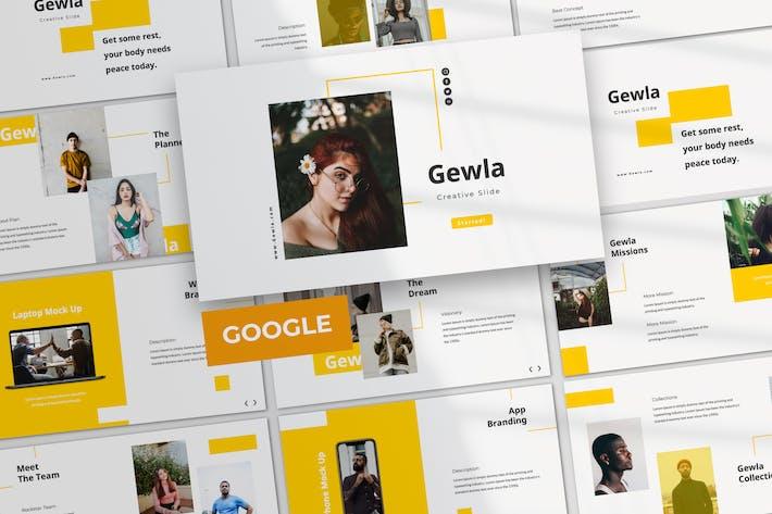 Thumbnail for Gewla Creative Google Slide