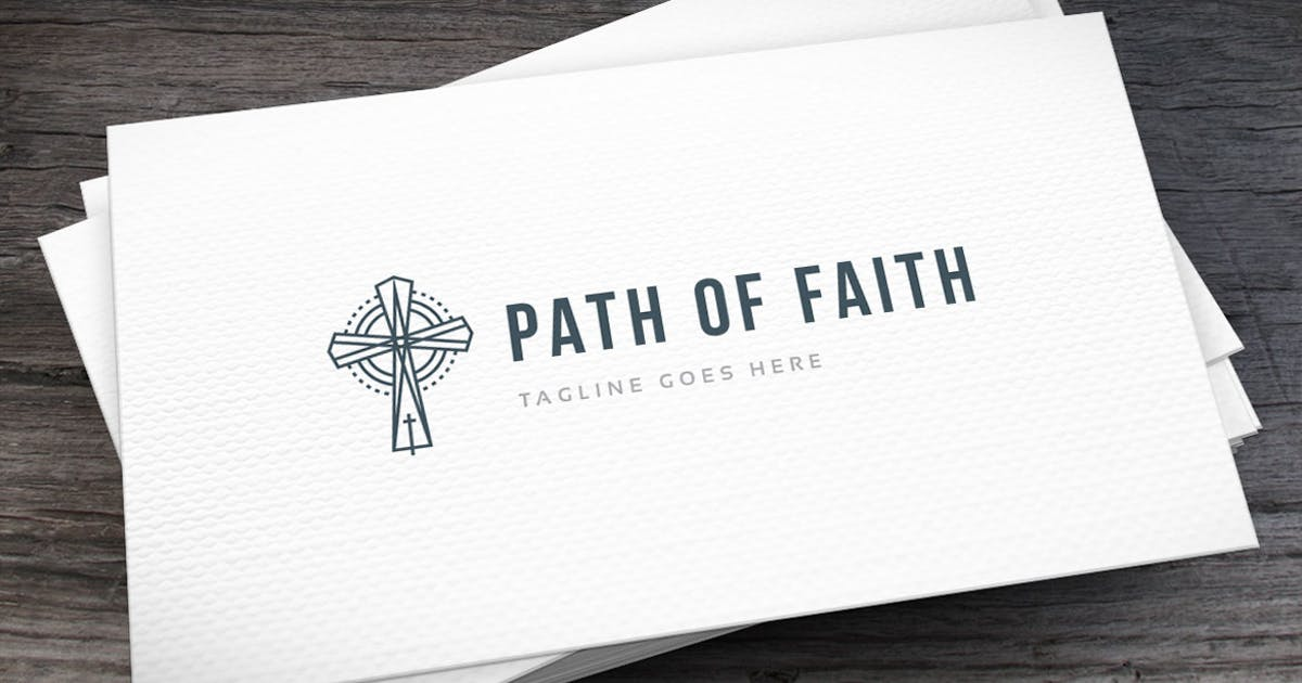 Download Path Faith Logo Template by empativo