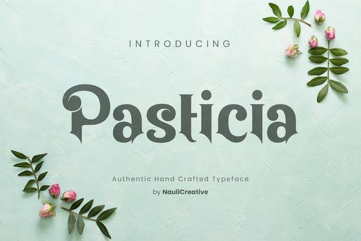 Pasticia - Elegante tipografía decorativa