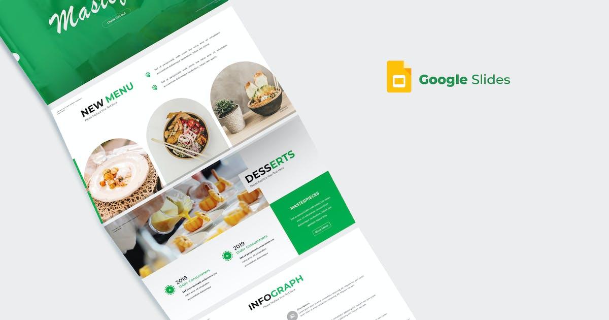 Download Mastefood - Google Slides Template by aqrstudio