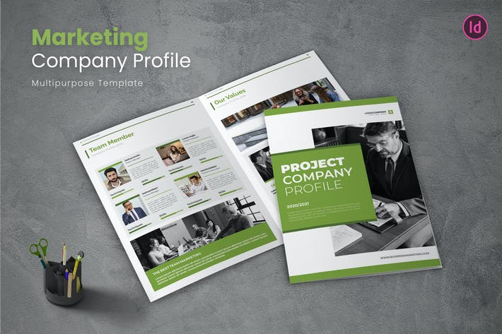 Thumbnail for Business Marketing Company Profile