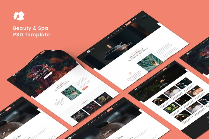Thumbnail for Beauty and Spa PSD Template