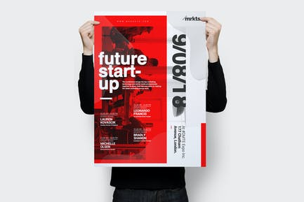 Future Startup : Conference Flyer