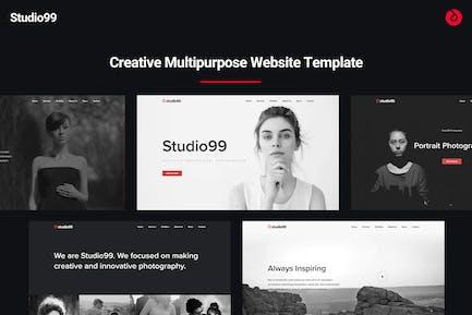 Studio99 - Creative Multipurpose Website Template