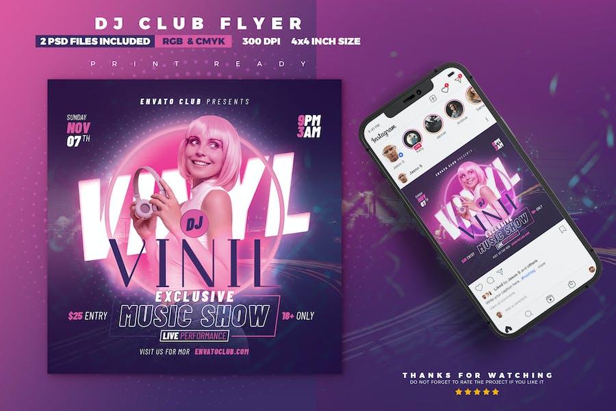 Music Show Flyer