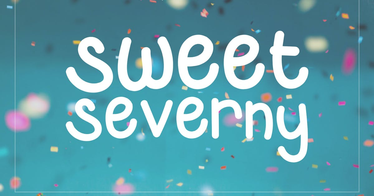 Download Sweet Severny - Fun Typeface by naulicrea