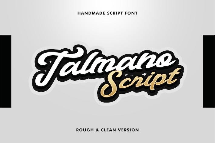 Thumbnail for Police de script Talmano