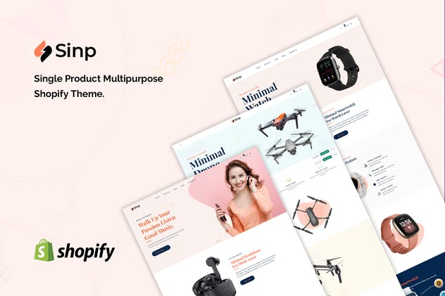Sinp - Single Product Multipurpose Shopify Theme