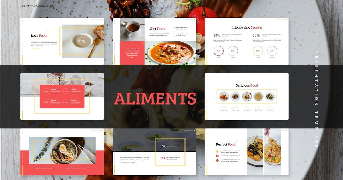 Download Aliments | Keynote Template by Vunira