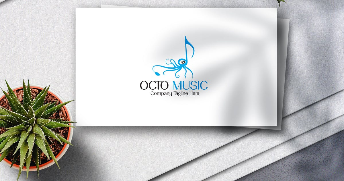 Download Octo Music Logo by Voltury