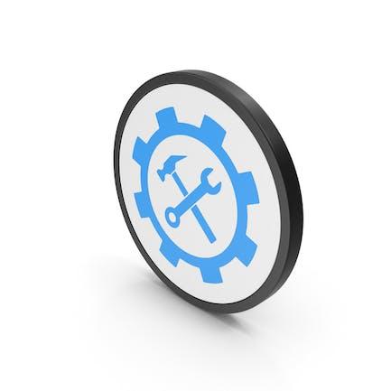 Icon Tools Blue
