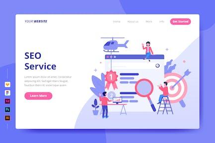 Service SEO - Page de destination