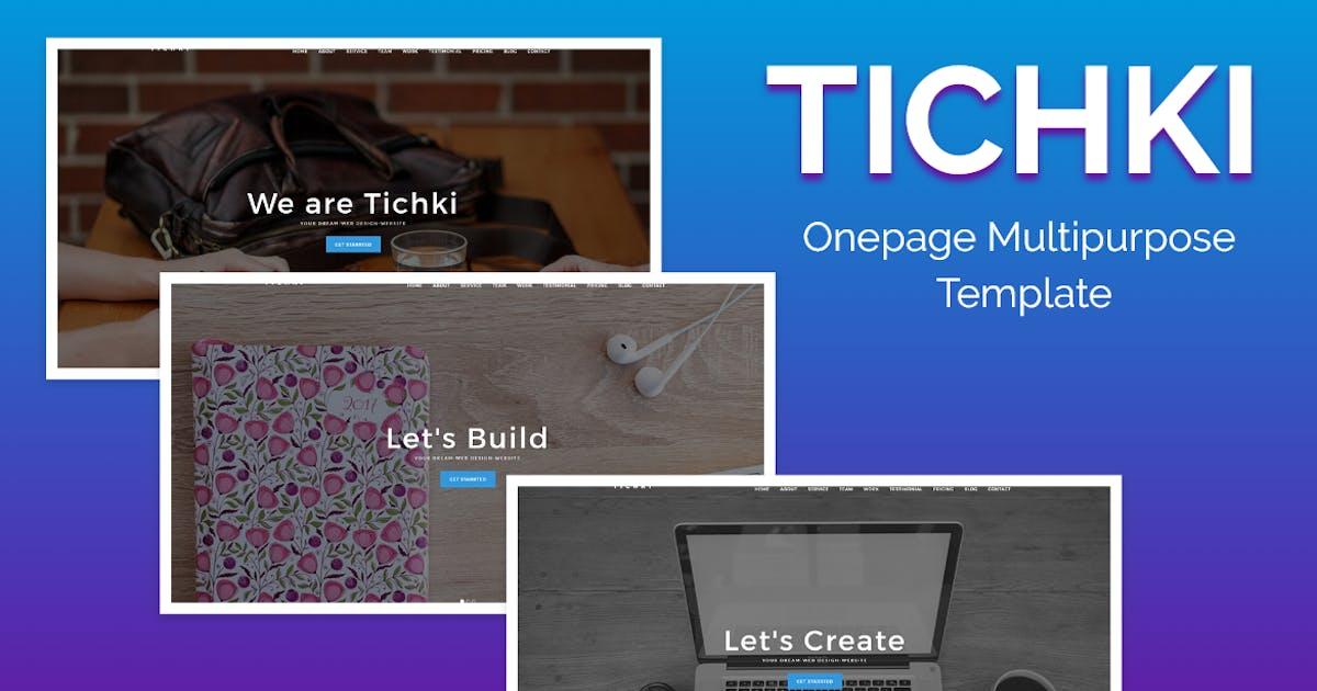 Download Tichki-Onepage Multipurpose Template by fullstackdev