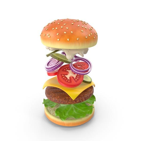 Burger Modell