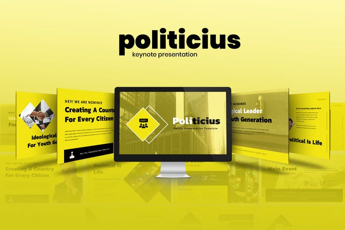 Thumbnail for Politicius - Political Campaign Keynote