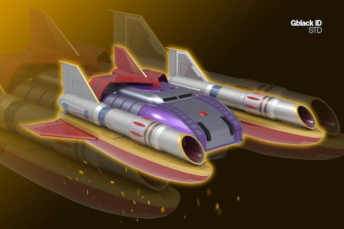 Jet Spaceship 1