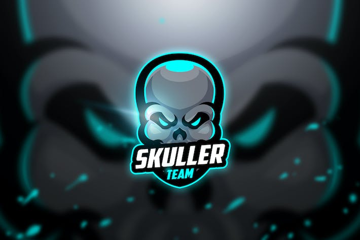 Thumbnail for Skuller - Mascot & Esport Logo