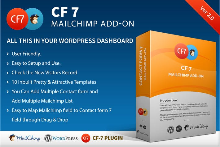Thumbnail for CF7 7 Mailchimp Add-on