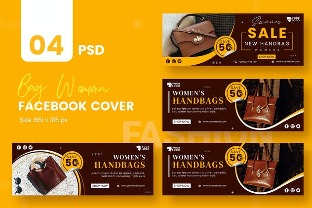 Bag Woman Fashion Facebook Timeline Covers