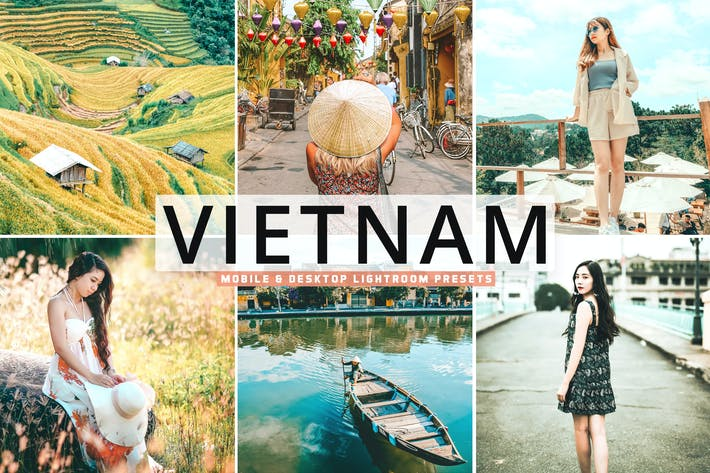 Thumbnail for Vietnam Mobile & Desktop Lightroom Presets