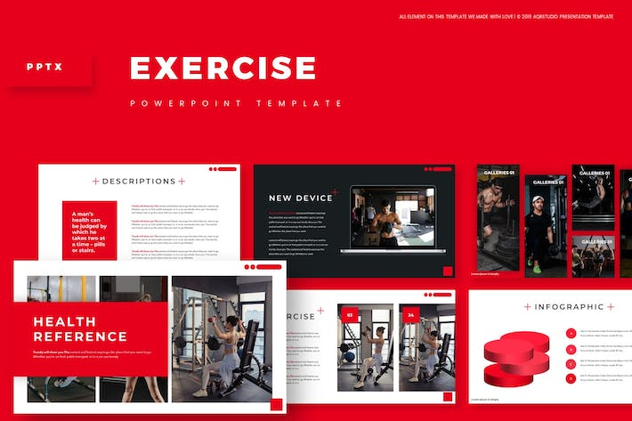 Thumbnail for Exercise - Powerpoint Template