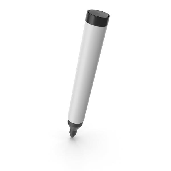 Черная маркерная ручка