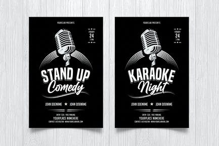 Karaoke / Standup Comedy