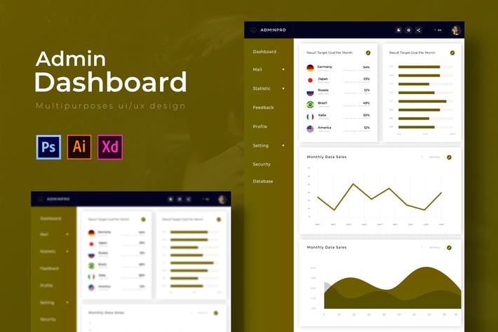 Thumbnail for Pro Dashboard | Admin Template