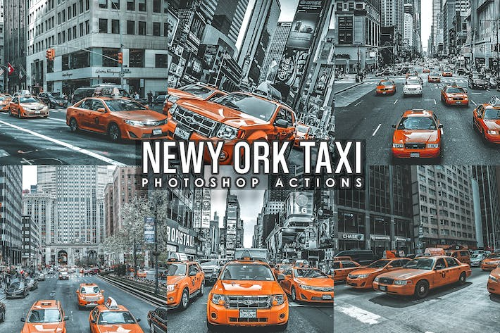 Thumbnail for Street Taxi New York  Actions