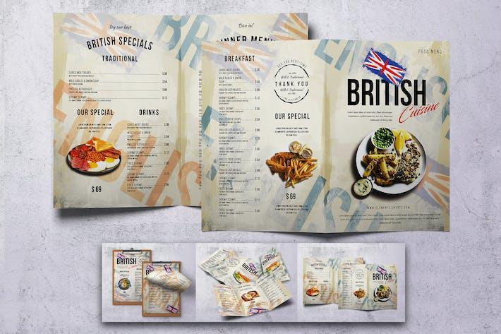 Thumbnail for British Food Menu Bundle