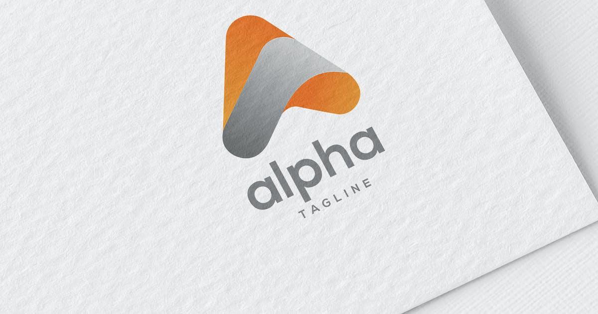 Download Alpha Logo by MONOGRPH