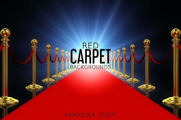 Thumbnail for Red Carpet Backgrounds