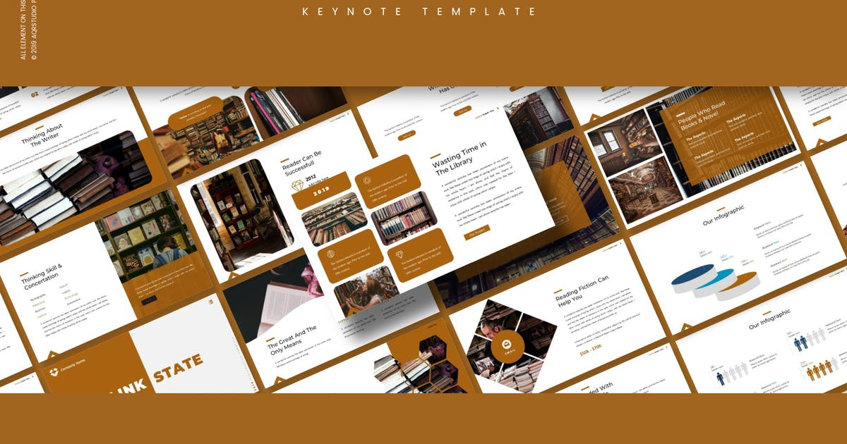 Download Link State - Keynote Template by aqrstudio