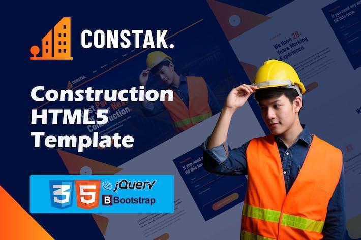 Constak – Construction HTML5 Template