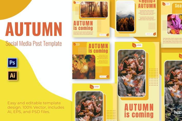 Thumbnail for Flower Autumn Social Media