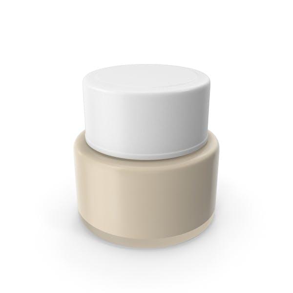 tarro crema cosmética