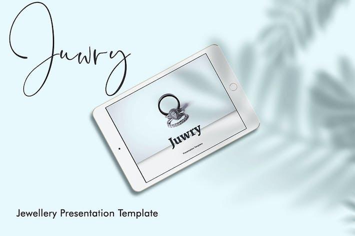 Juwry - элегантная презентация PowerPoint