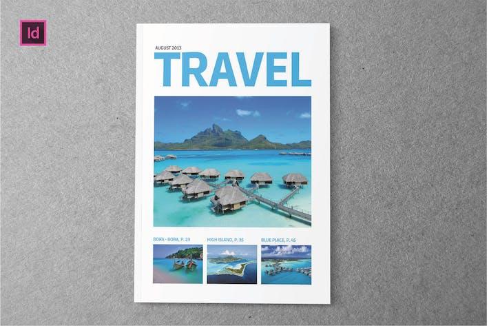 Thumbnail for TRAVEL - ZeitschriftenVorlage