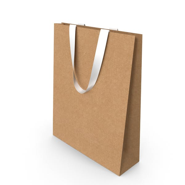 Thumbnail for Craft Paper Bag with White Handles